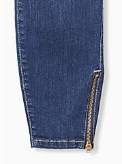 Jegging - Premium Stretch Medium Wash with Zip Hem, ENGLISH CHANNEL, alternate