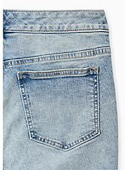 Crop Mid Rise Skinny Jean - Vintage Stretch Light Wash, AUTOBAHN, alternate