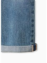 Crop Mid Rise Skinny Jean - Vintage Stretch Light Wash, CRUISE CONTROL, alternate