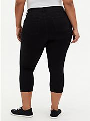 Crop Bombshell Skinny Jean - Premium Stretch Black, BLACK, alternate