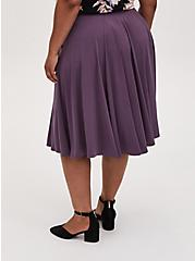 Vintage Purple Studio Knit Midi Skirt, VINTAGE VIOLET, alternate