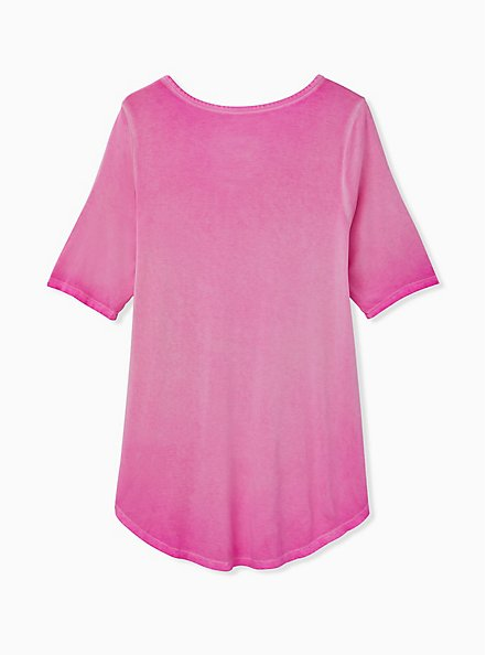 Favorite Tunic - Super Soft Washed Neon Pink, PINK GLO, alternate