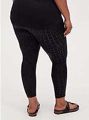 Premium Legging - Mermaid Scale Black, BLACK, alternate