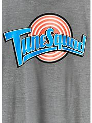 Plus Size Space Jam Tune Squad Heather Grey Crew Tee, MEDIUM HEATHER GREY, alternate