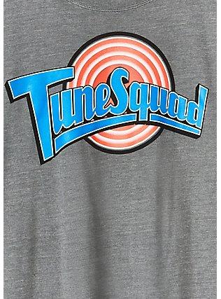 Space Jam Tune Squad Heather Grey Crew Tee, MEDIUM HEATHER GREY, alternate