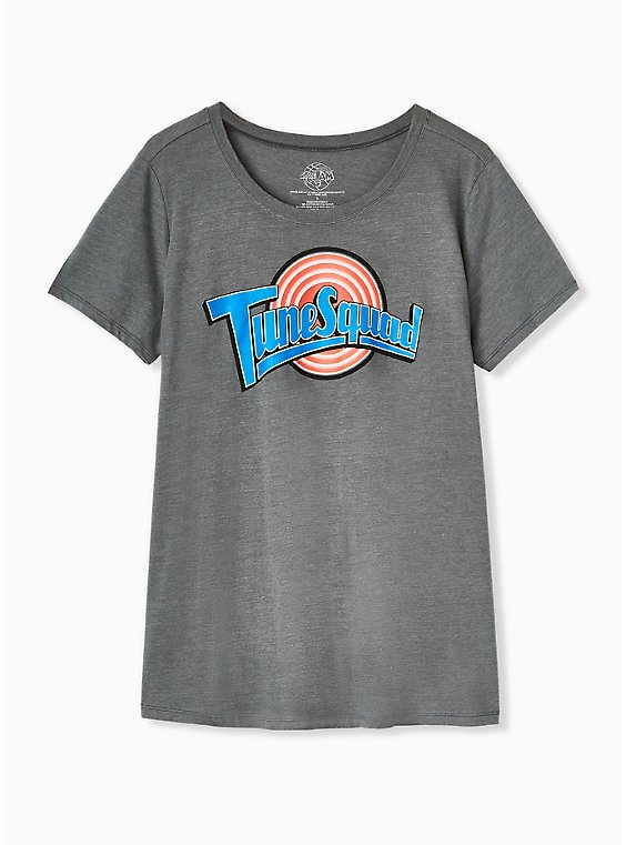 Space Jam Tune Squad Heather Grey Crew Tee, , hi-res