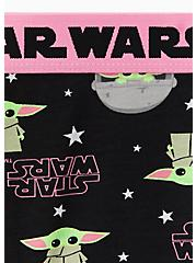 Star Wars The Mandalorian The Child Black & Pink Cotton Hipster Panty , MULTI, alternate