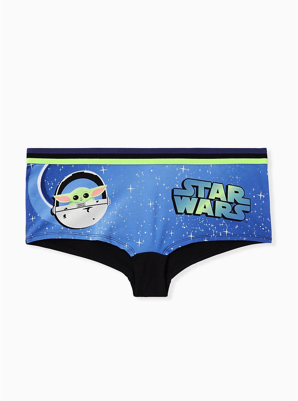 Star Wars The Mandalorian The Child Blue Cotton Boyshort Panty , MULTI, hi-res