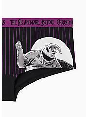 The Nightmare Before Christmas Black & Purple Cotton Boyshort Panty, MULTI, alternate