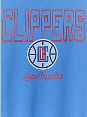 NBA LA Clippers V-Neck Tee - Blue, , alternate