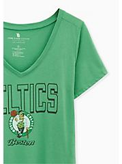 NBA Boston Celtics V-Neck Tee -  Green, , alternate