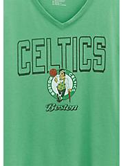 Plus Size NBA Boston Celtics V-Neck Tee -  Green, , alternate
