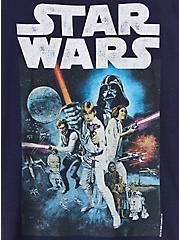 Star Wars Crew Tee - Navy, PEACOAT, alternate