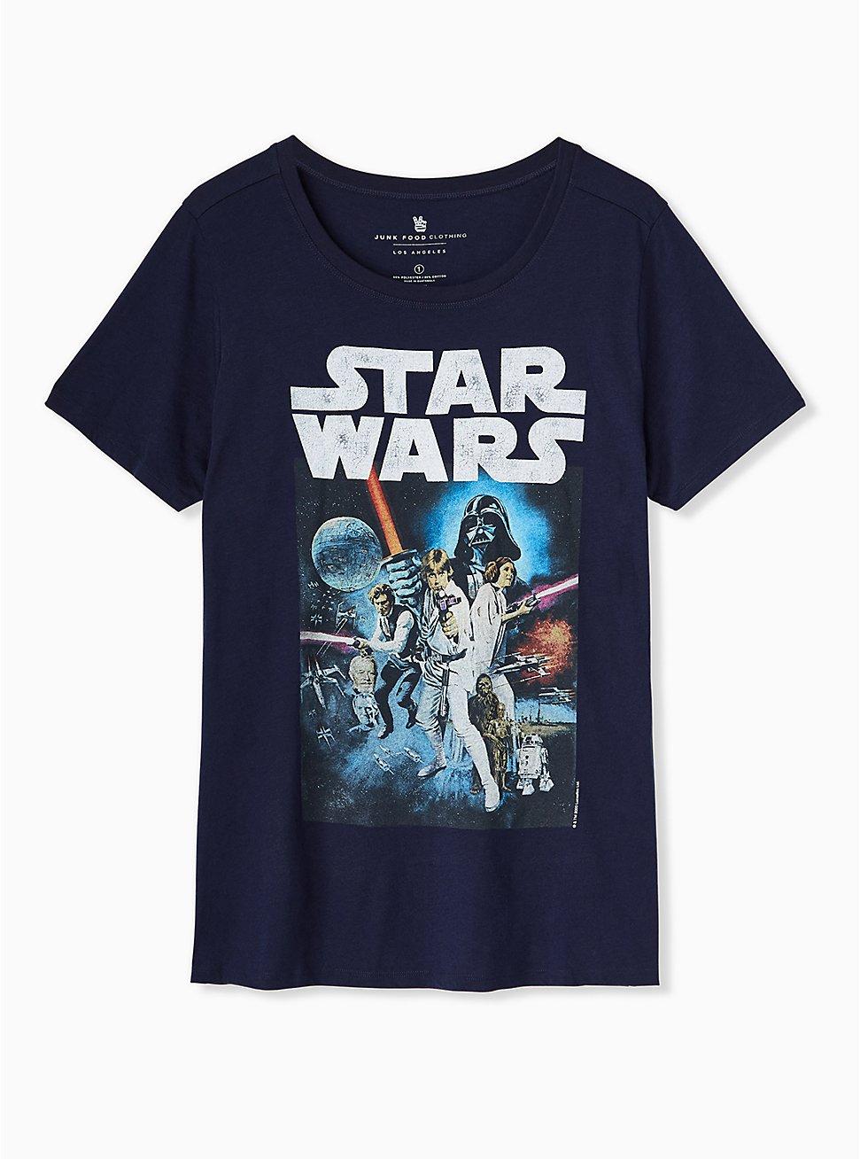 Star Wars Crew Tee - Navy, PEACOAT, hi-res