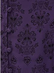 Disney The Haunted Mansion Damask Dark Purple Fit & Flare Cami, MULTI, alternate