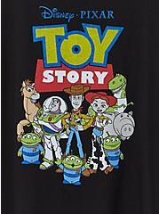 Disney Pixar Toy Story Black Crew Tank, DEEP BLACK, alternate