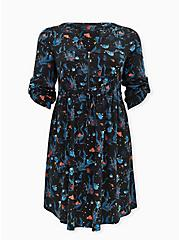 Disney Pixar Finding Nemo Dory & Marlin Challis Shirt Dress, MULTI, hi-res