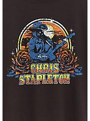 Plus Size Chris Stapleton Crew Tee - Black, MEDIUM HEATHER GREY, alternate