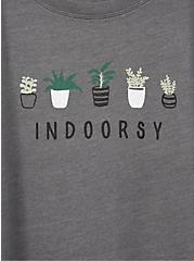 Indoorsy Heather Grey Crew Tee, MEDIUM HEATHER GREY, alternate