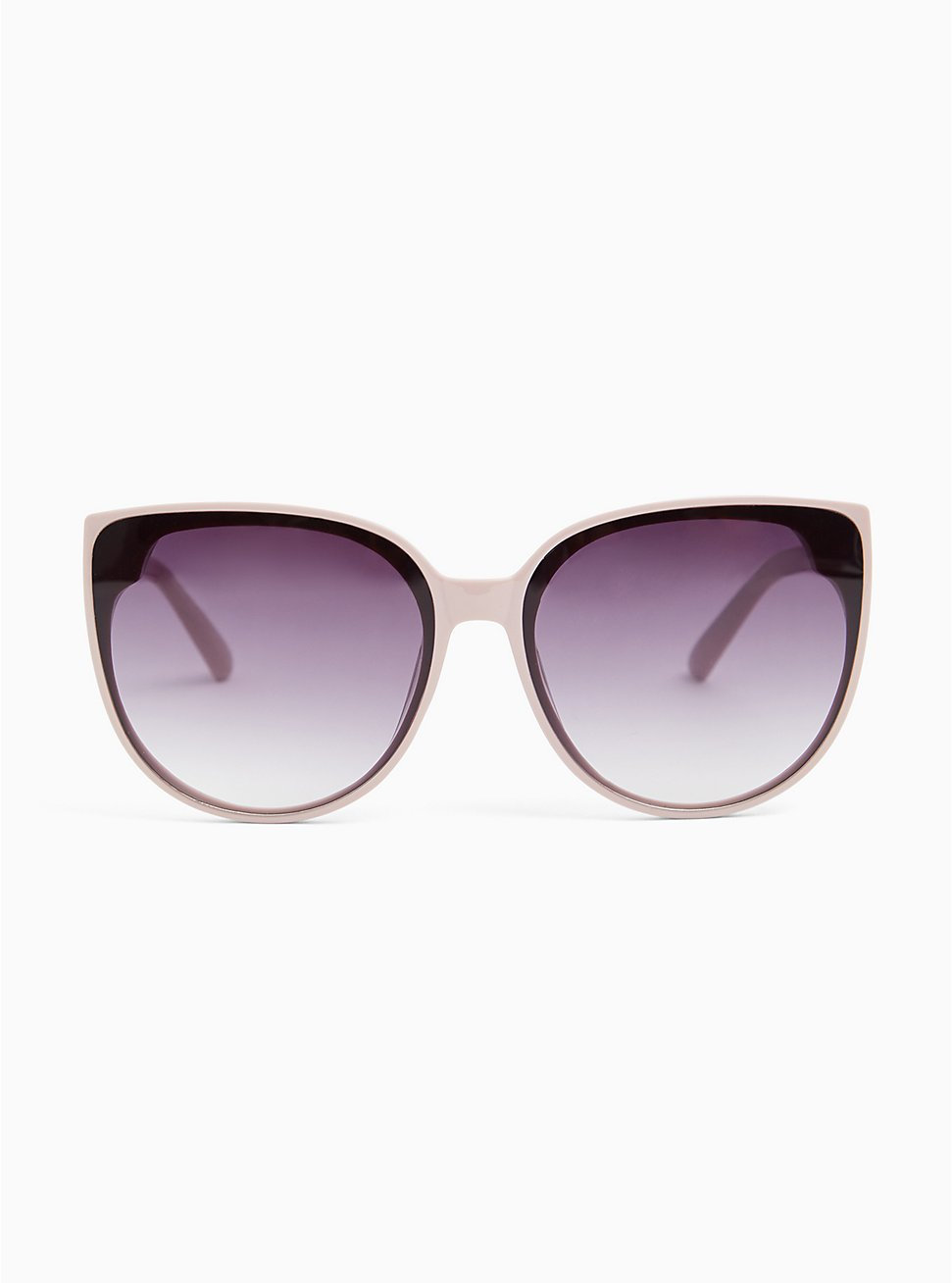 Light Pink & Black Cat Eye Sunglasses, , hi-res