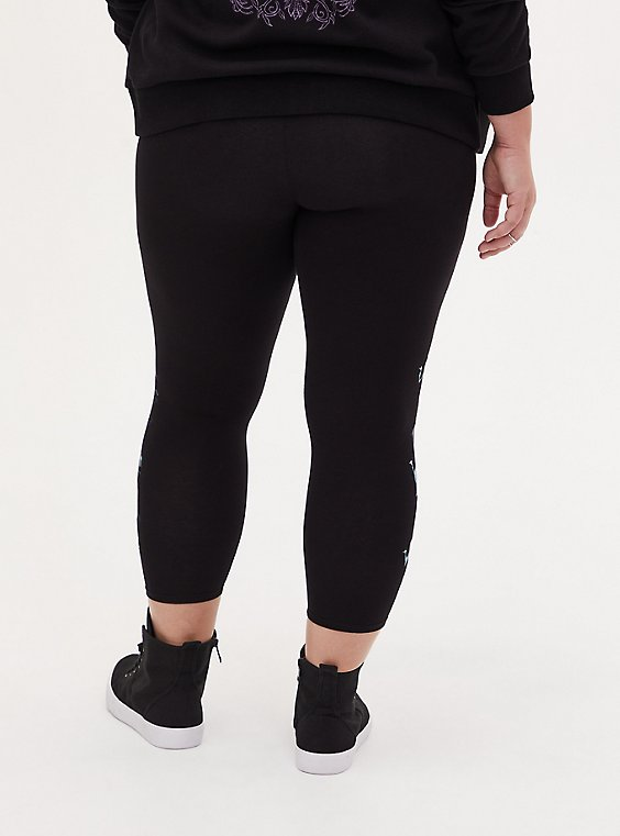 Winter Styles in Sizes XS Sports Leggings in Capri or Full Length Haunted Mansion Wallpaper 3XL Yoga