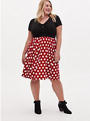 Disney Minnie Mouse Polka Dot Skater Dress , MINNIE MOUSE DOT, alternate