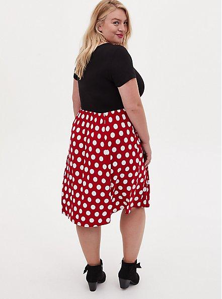 Disney Minnie Mouse Polka Dot Skater Dress , MINNIE MOUSE DOT, alternate
