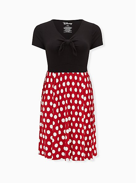 Disney Minnie Mouse Polka Dot Skater Dress , MINNIE MOUSE DOT, hi-res