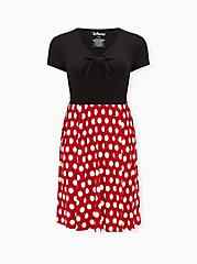 Disney Minnie Mouse Polka Dot Skater Dress , MINNIE MOUSE DOT, hi-res