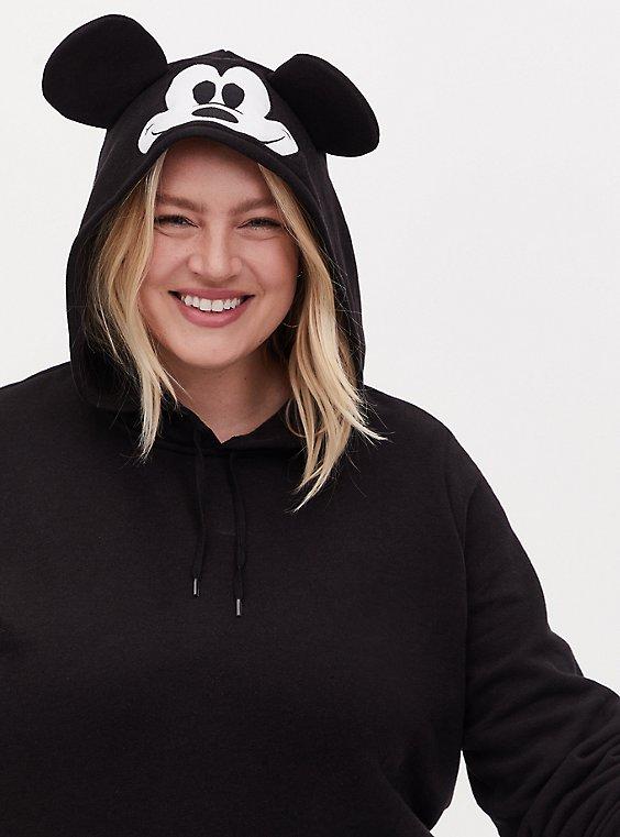 Disney Mickey Mouse Black Hoodie, , hi-res