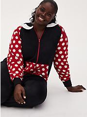 Disney Minnie Mouse Polka Dot Fleece Onesie , MULTI, alternate