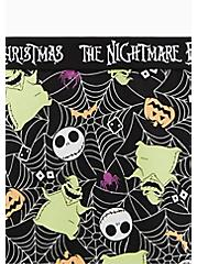 Disney The Nightmare Before Christmas Oogie Boogie Black Cotton Hipster Panty , MULTI, alternate