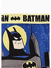 DC Comics Batman Blue & Yellow Cotton Boyshort Panty , MULTI, alternate