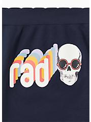 Rad Skull Navy Seamless Hipster Panty, RAD SKULLS, alternate