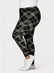 Premium Legging - Plaid Black, MULTI, hi-res