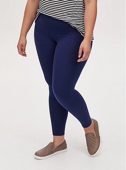 Premium Legging - Navy , BLUE, alternate