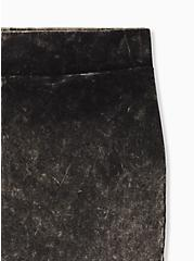 Premium Legging - Mineral Wash Black, BLACK, alternate