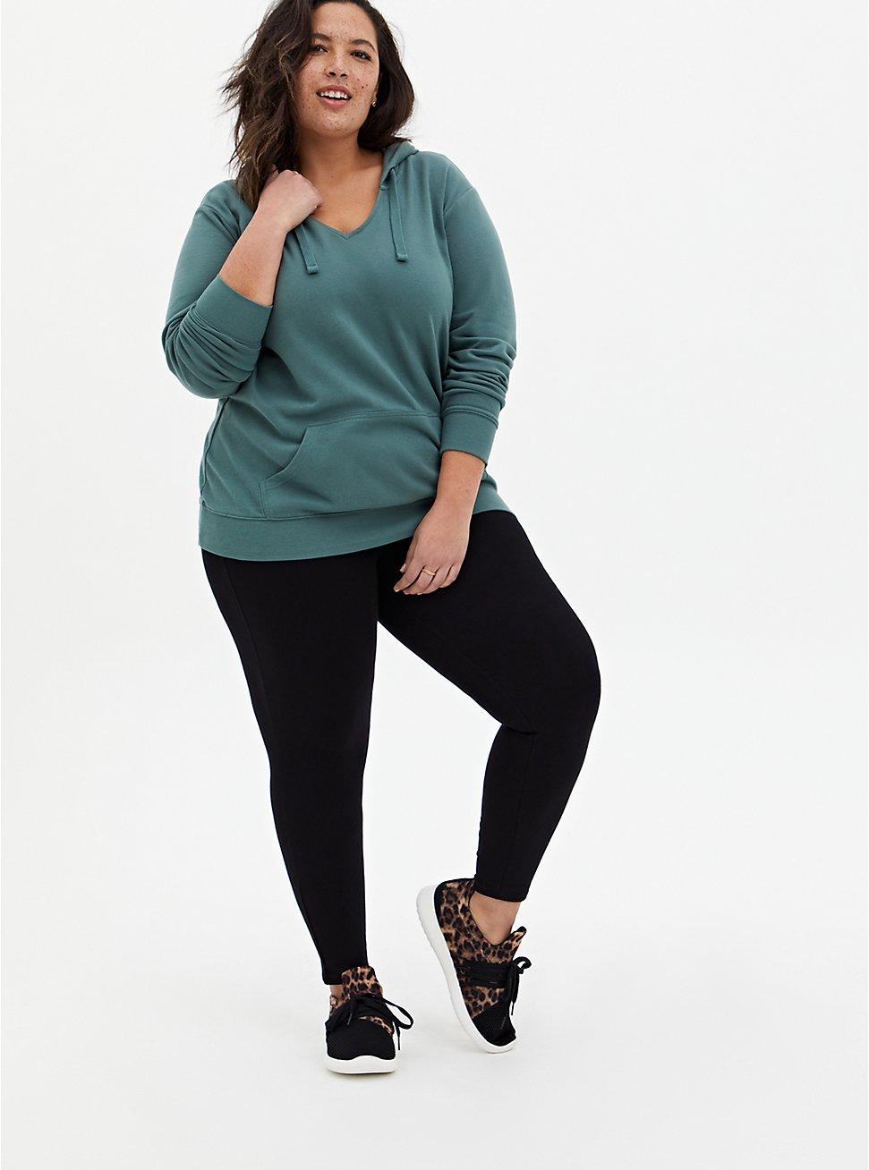 Comfort Waist Premium Legging - Black, BLACK, hi-res
