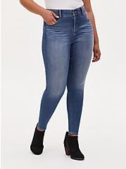Bombshell Skinny Jean - Premium Stretch Medium Wash, , fitModel1-hires
