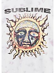 Sublime Crew Tee - Tie-Dye Lavender Purple, , alternate