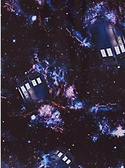 Harper - Her Universe Doctor Who Tardis Galaxy Georgette Pullover Blouse, MULTI, alternate
