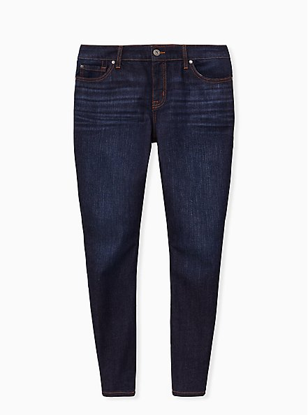 Mid Rise Skinny Jean - Vintage Stretch Eco Dark Wash, LOST IN SPACE, hi-res
