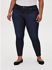 Mid Rise Skinny Jean - Vintage Stretch Eco Dark Wash, LOST IN SPACE, hi-res