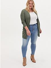 Sky High Skinny Jean - Premium Comfort Light Wash, OCEANUS, alternate
