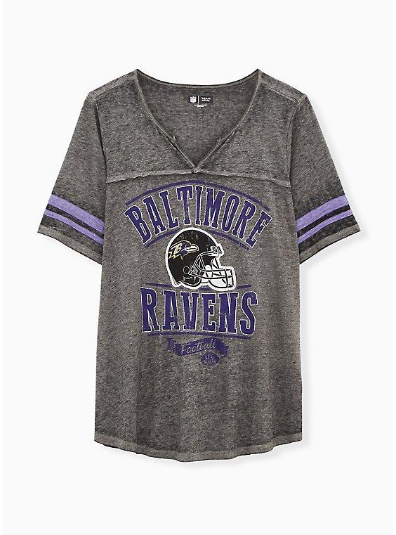NFL Baltimore Raves Football Tee - Vintage Black, , hi-res