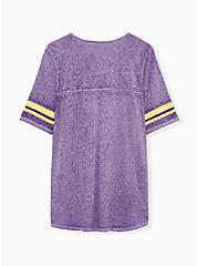 NFL Minnesota Vikings Football Tee - Vintage Purple, , alternate