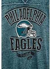 Plus Size NFL Philadelphia Eagles Football Tee - Vintage Teal , , alternate