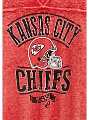 NFL Kansas City Chiefs Football Tee - Vintage Red , JESTER RED, alternate