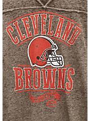 NFL Cleveland Browns Football Tee - Vintage Brown, BROWN, alternate