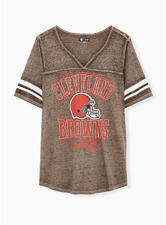 NFL Cleveland Browns Football Tee - Vintage Brown, , hi-res